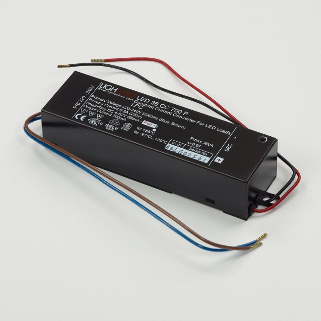 LED POWER SUPPLY 700mA-DC / 36W